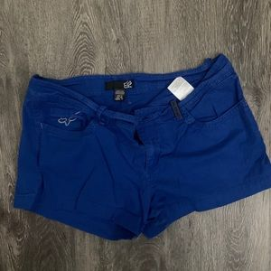 Fox Shorts. Lot of 2. Black and Blue.